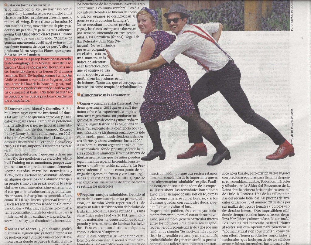swingtiago swing y lindy hop chile