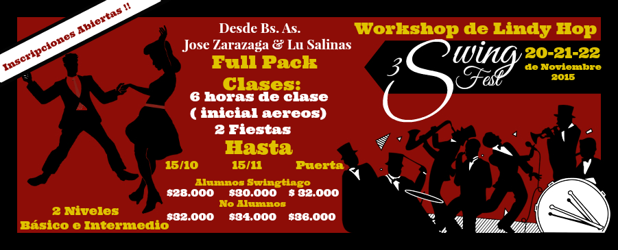 full pack clases de lindy hop