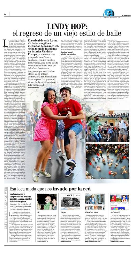 swingtiago en el mercurio