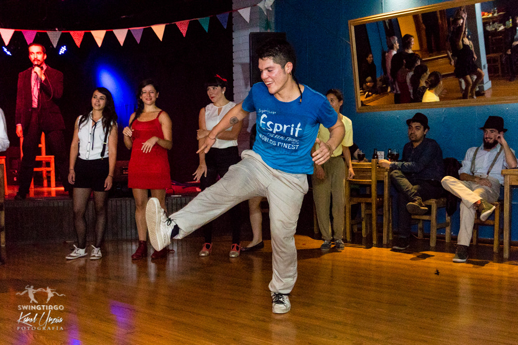fiesta speakeasy de lindy hop chile