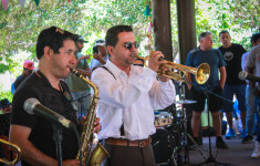 Swingtiago Band Plaza de Armas